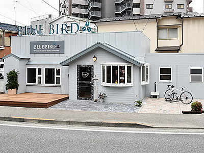 café Bluebird(カフェ ブルーバード)外観